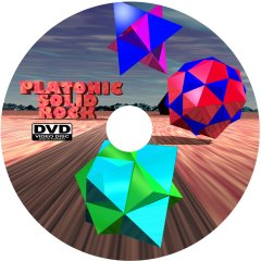 Platonic Solid Rock This is the artwork printed on the DVD.