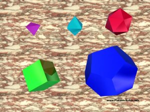 Platonic Solids 1024 by 768